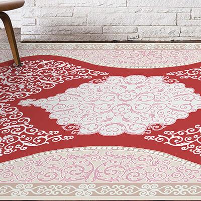 کلکسیون اس فرش مهستان از مجموعه ابریشم گونه