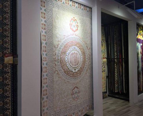 غرفه فرش مهستان در نمایشگاه فرش ماشینی سال ۹۶